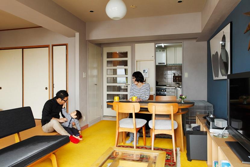 世田谷区K邸~SAKU~の部屋 リビング2