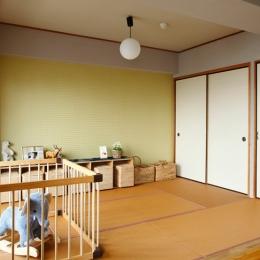 『SAKU』 ― カラー・リノベーション-和室