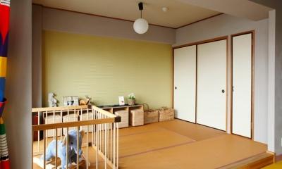 『SAKU』 ― カラー・リノベーション (和室)