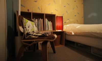 『SAKU』 ― カラー・リノベーション (寝室1)