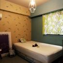 『SAKU』 ― カラー・リノベーションの写真 寝室2