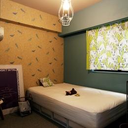 『SAKU』 ― カラー・リノベーション (寝室2)