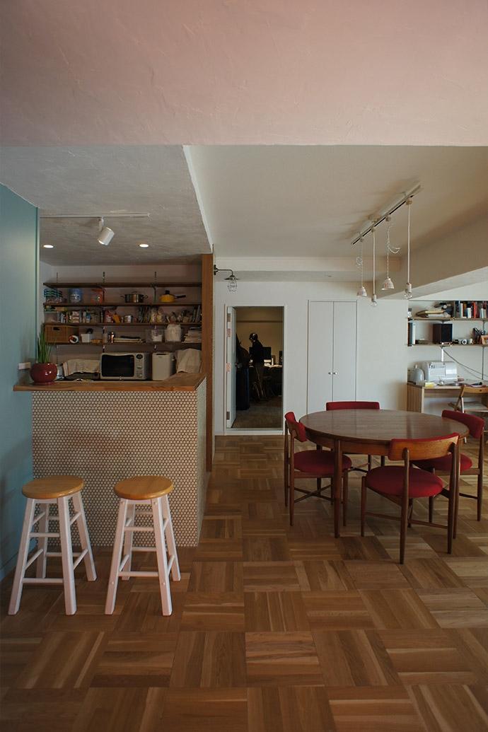 杉並区A邸~JELLY~の部屋 リビング・キッチン2