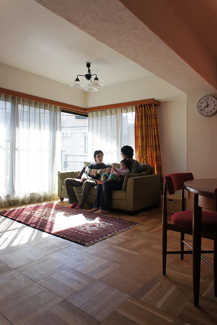 杉並区A邸~JELLY~の部屋 リビング
