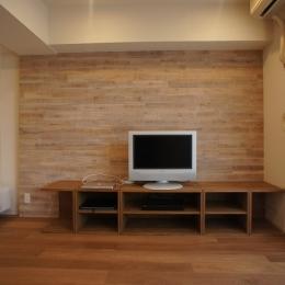 台東区C邸~R:H~ (カップボード造作家具(リビングルーム))