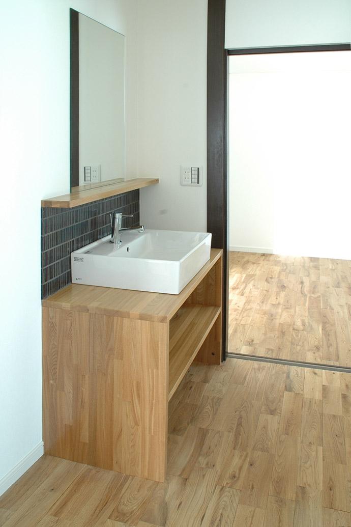 横浜市F邸~troisl~の部屋 洗面室
