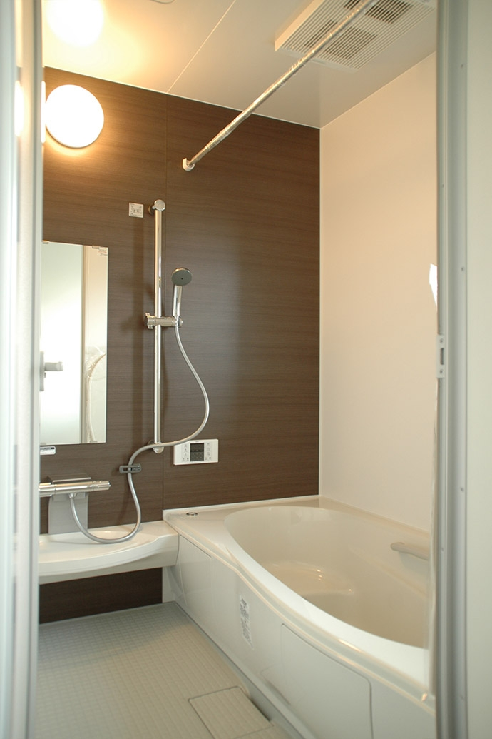 横浜市F邸~troisl~の写真 バスルーム