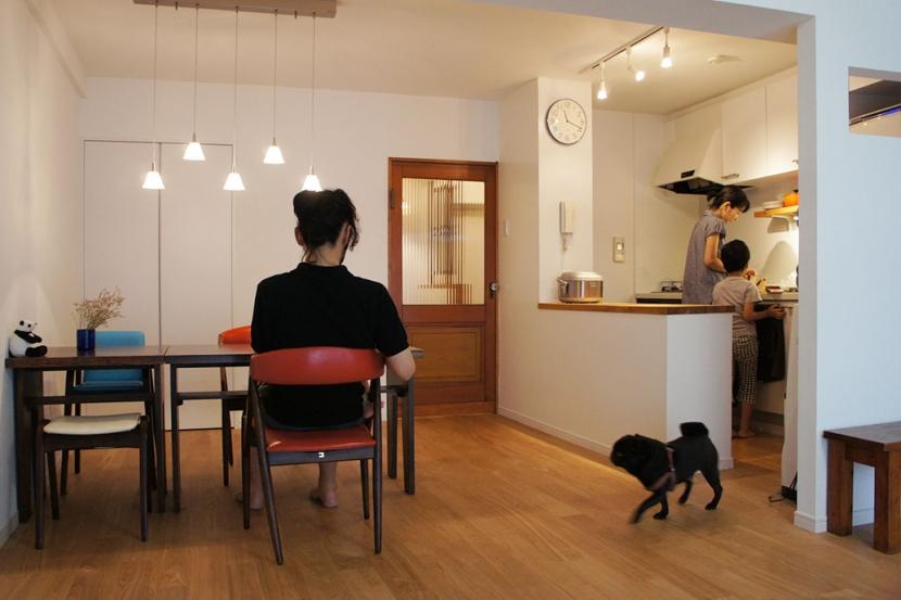 世田谷区T邸~TSUNAGU~の部屋 リビング・キッチン1