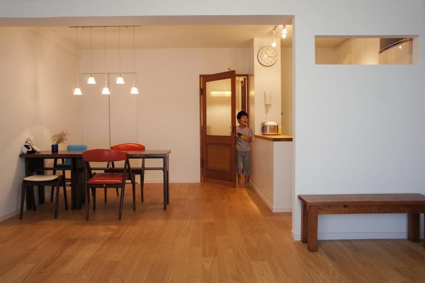 世田谷区T邸~TSUNAGU~ (リビング・キッチン2)