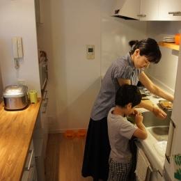世田谷区T邸~TSUNAGU~ (キッチン2)