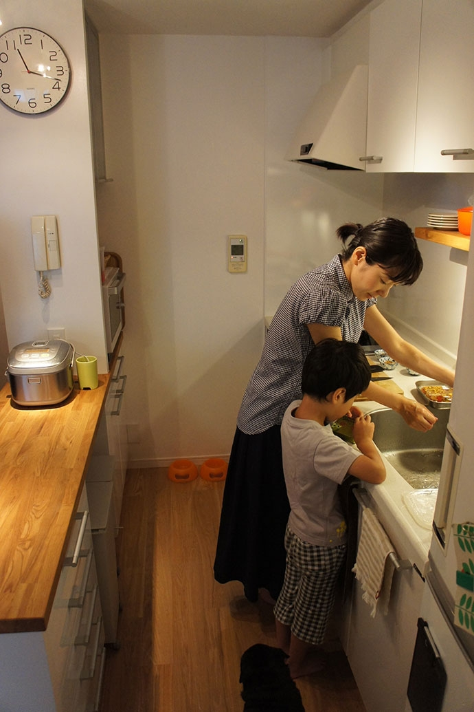 世田谷区T邸~TSUNAGU~の部屋 キッチン2