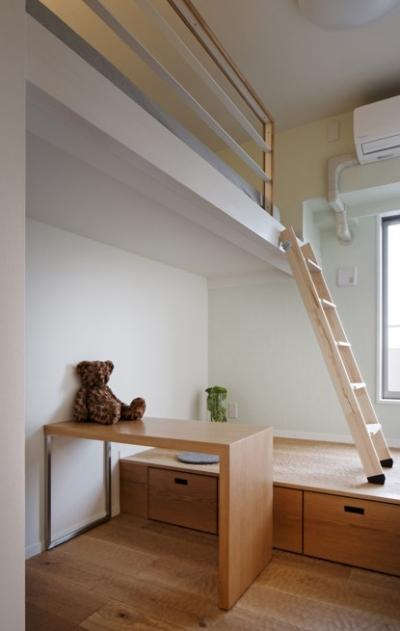子供部屋 (生活感を見せない、ホテルライクな暮らし)