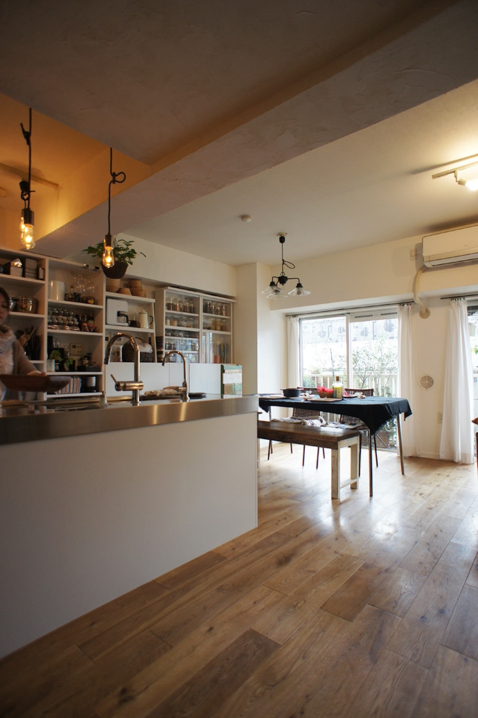 横浜市F邸~Colmena~の写真 キッチン・ダイニング