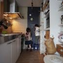 キッチン・黒板塗装