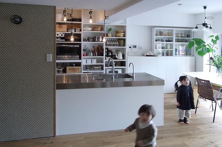 横浜市F邸~Colmena~の写真 施工後当初 キッチン・ダイニング