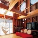 森 大樹/小埜勝久の住宅事例「徹底的に生成りのビルトインガレージハウス/Imさんの家」
