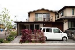 コンパクトハウス/Saさんの家 (南側外観)