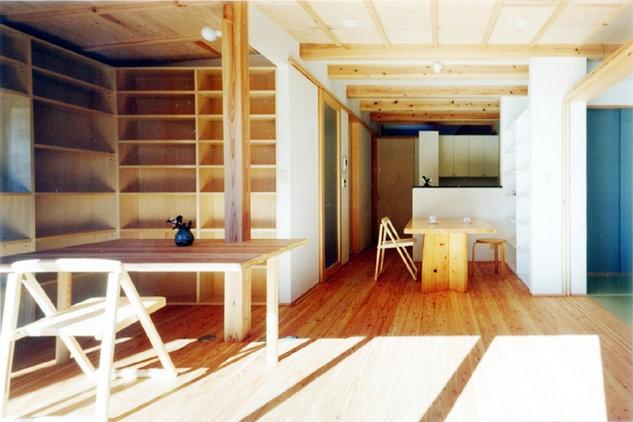 コンパクトハウス/Saさんの家の部屋 引戸建具でフレキシブルに使える1階空間