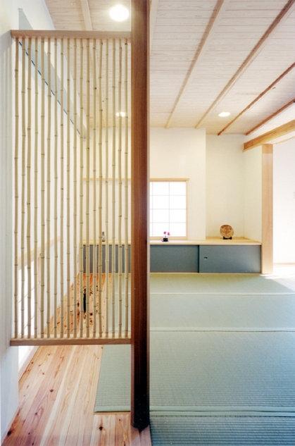 コンパクトハウス/Saさんの家の部屋 仕切れてもオープンな畳の空間