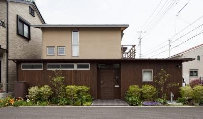 コンパクトハウス/Saさんの家 (西側外観)