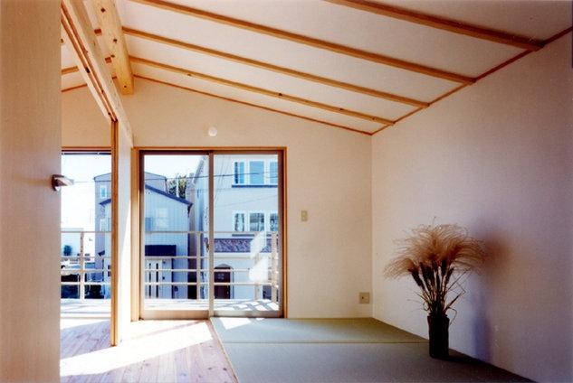 コンパクトハウス/Saさんの家の部屋 空間を提供して、部屋さえ自由に設定