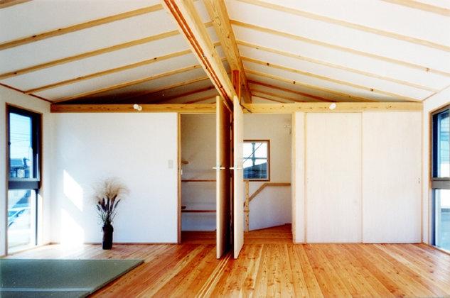 コンパクトハウス/Saさんの家の部屋 フレキシブルなダブルルーム