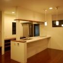 ハーフコートハウス/Okiさんの家の写真 落ち着いた、単身者の為のダイニングキッチン