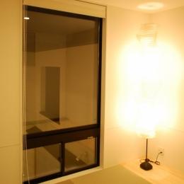 ハーフコートハウス/Okiさんの家 (シンプルモダンな和室)