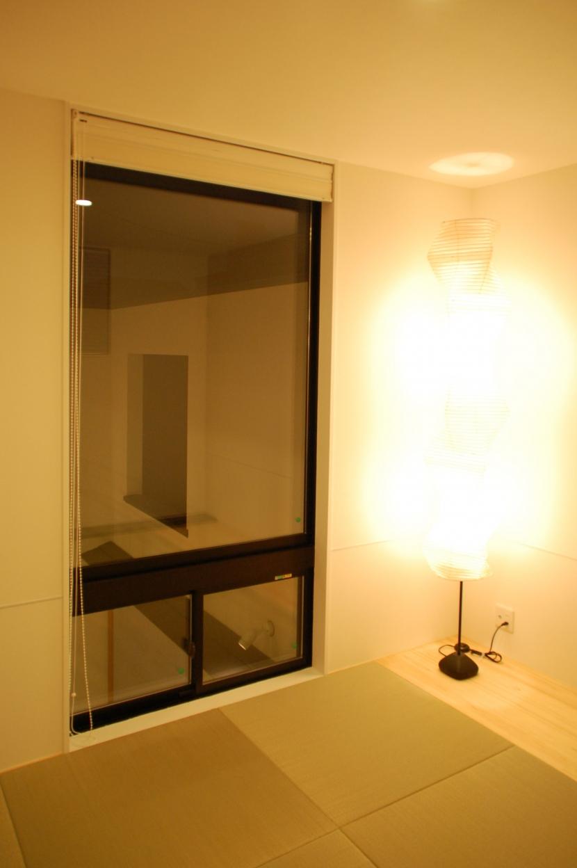 ハーフコートハウス/Okiさんの家の部屋 シンプルモダンな和室