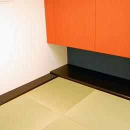 ハーフコートハウス/Okiさんの家 (趣味のモダン和室)