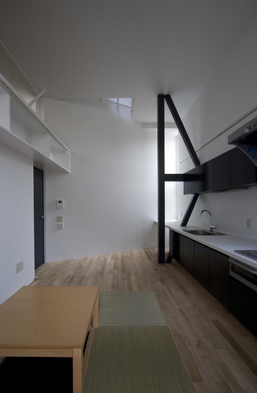 オウチ01・狭小二世帯住宅の部屋 親世帯リビング