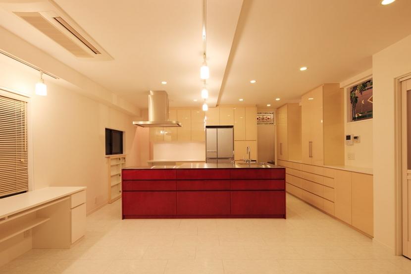 中野区U邸~FUOCO~の部屋 オーダーキッチン2
