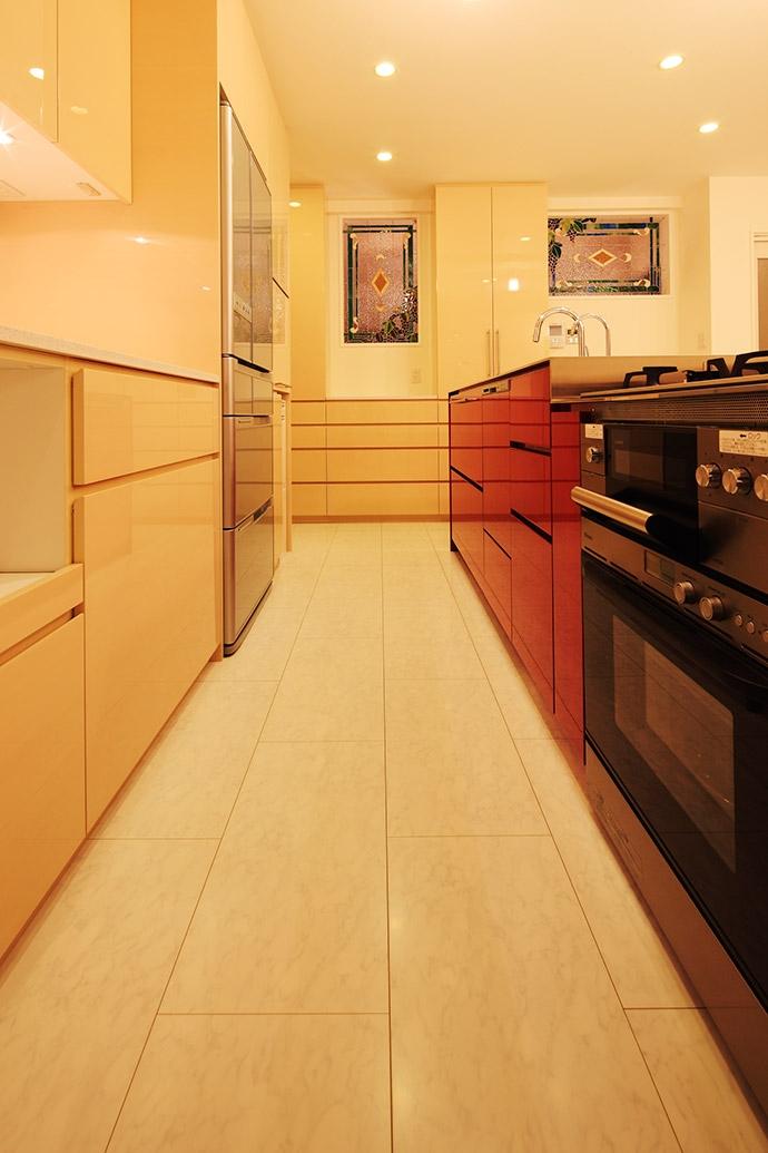 中野区U邸~FUOCO~の部屋 オーダーキッチン3