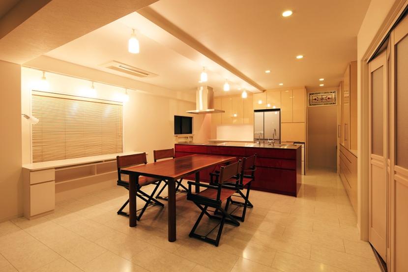 中野区U邸~FUOCO~の部屋 ダイニング・キッチン