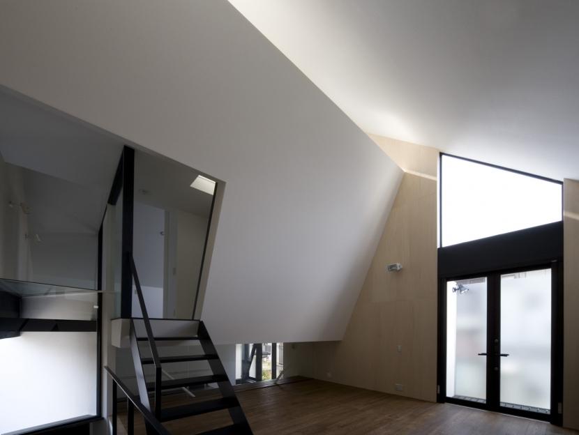 オウチ01・狭小二世帯住宅の部屋 子世帯リビング