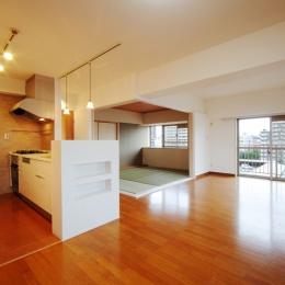 リノベーション・リフォーム会社 空間社の住宅事例「江東区N邸~TRAMONTO~」