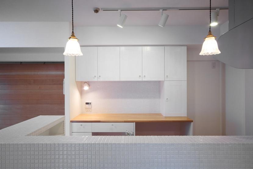 江東区N邸~TRAMONTO~の写真 キッチン1