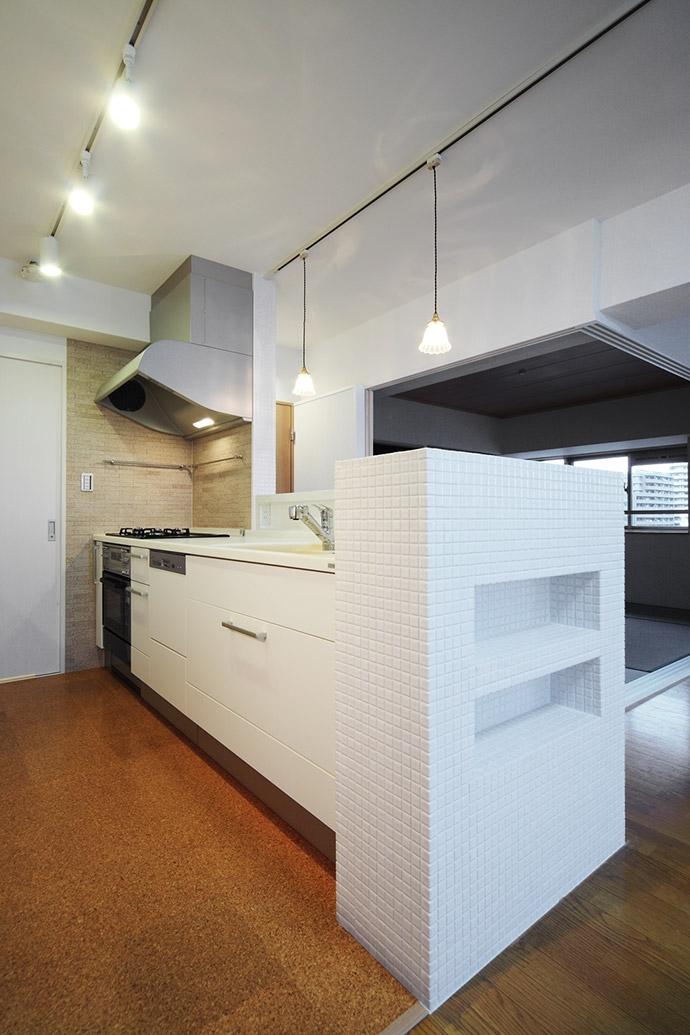 江東区N邸~TRAMONTO~の写真 キッチン2