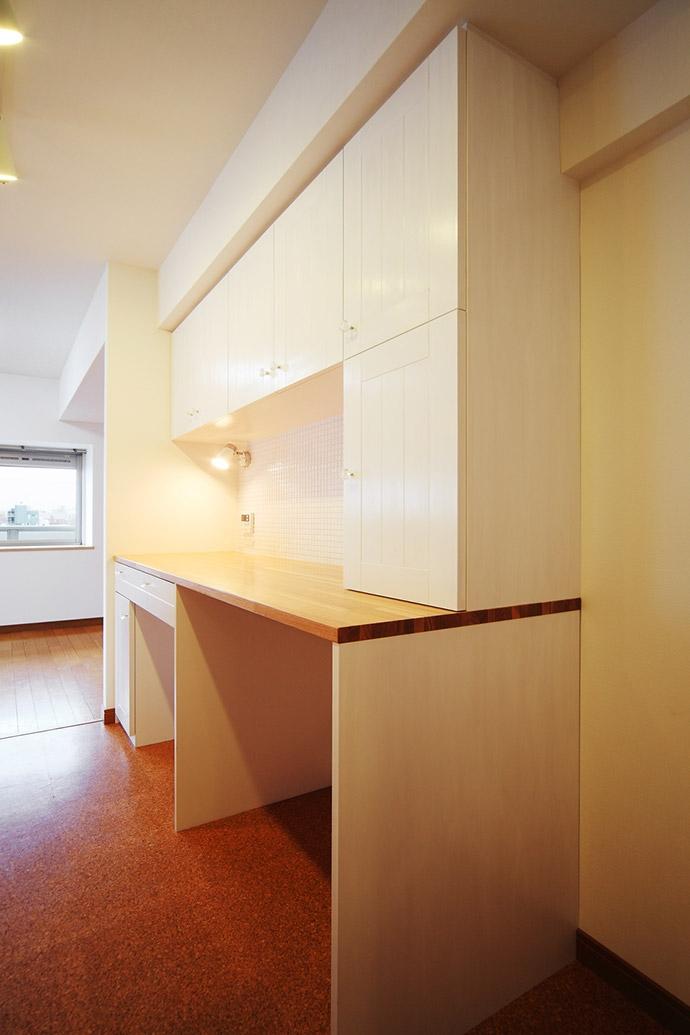 江東区N邸~TRAMONTO~の写真 キッチン・カップボード