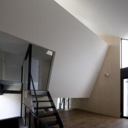 オウチ01・狭小二世帯住宅 (2階リビング)