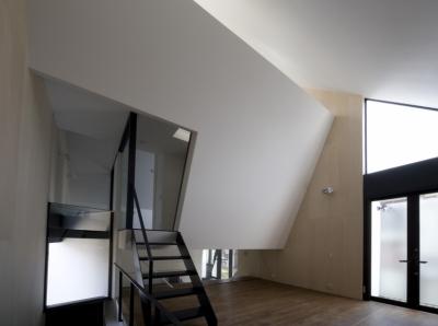 2階リビング (オウチ01・狭小二世帯住宅)