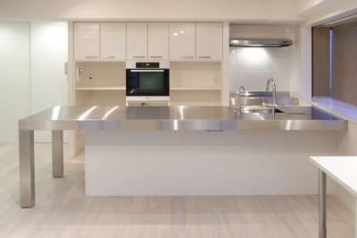 キッチン2 (目黒区U邸~T:C~)