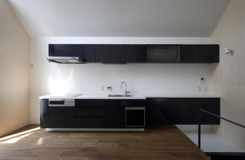 オウチ01・狭小二世帯住宅の部屋 子世帯キッチン