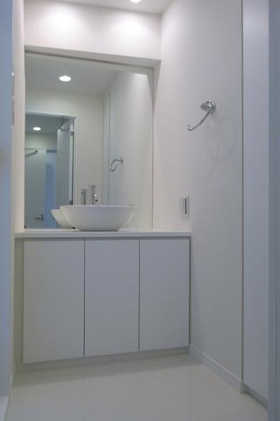 洗面室1 (目黒区U邸~T:C~)