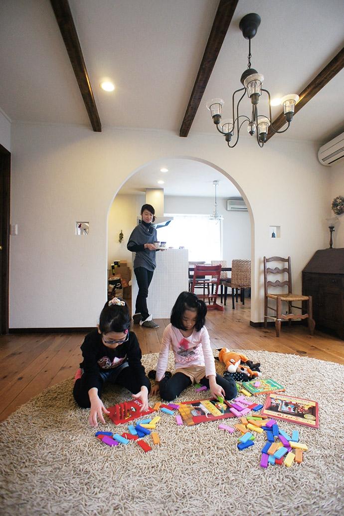 世田谷区E・S邸~ARUCO~の写真 リビング2
