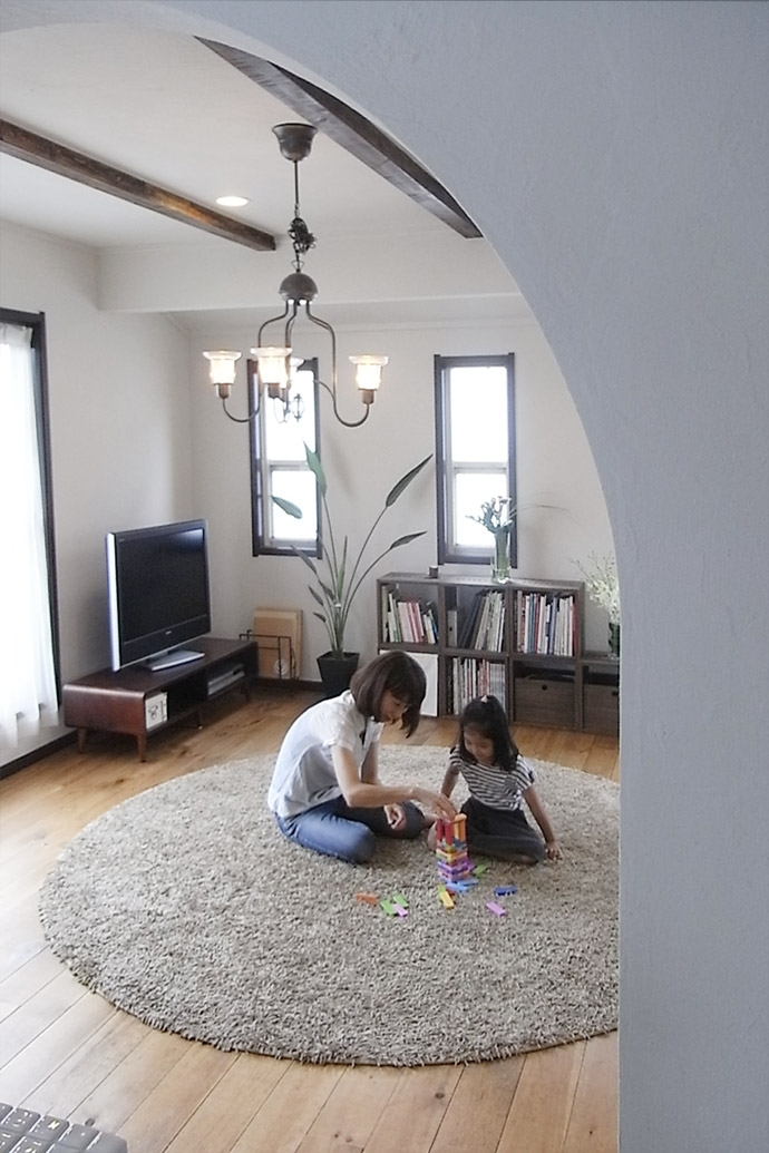 世田谷区E・S邸~ARUCO~の写真 リビング3