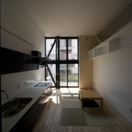 オウチ01・狭小二世帯住宅 (親世帯居間)