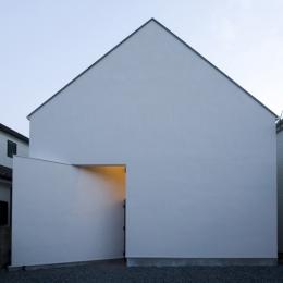 建築家 石川淳の事例「オウチ01・狭小二世帯住宅」