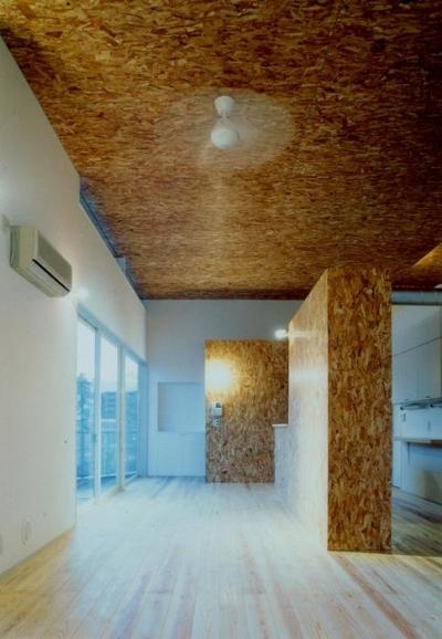まちのパン屋さん/妙力堂 (木質系仕上げ材料の構成力)