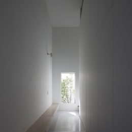 オウチ25・インナーバルコニーの家 (玄関ホール)